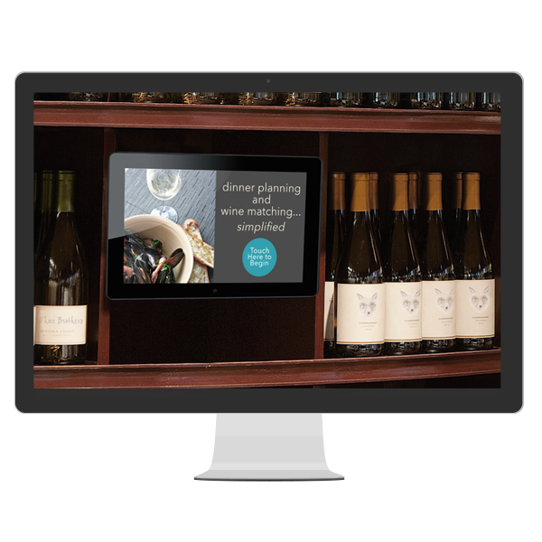 Digital Signage nel wine shop