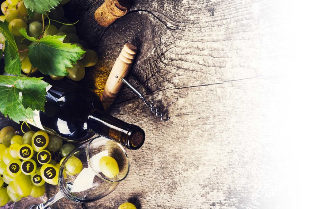 raccontare al mondo intero il tuo vino attraverso social network