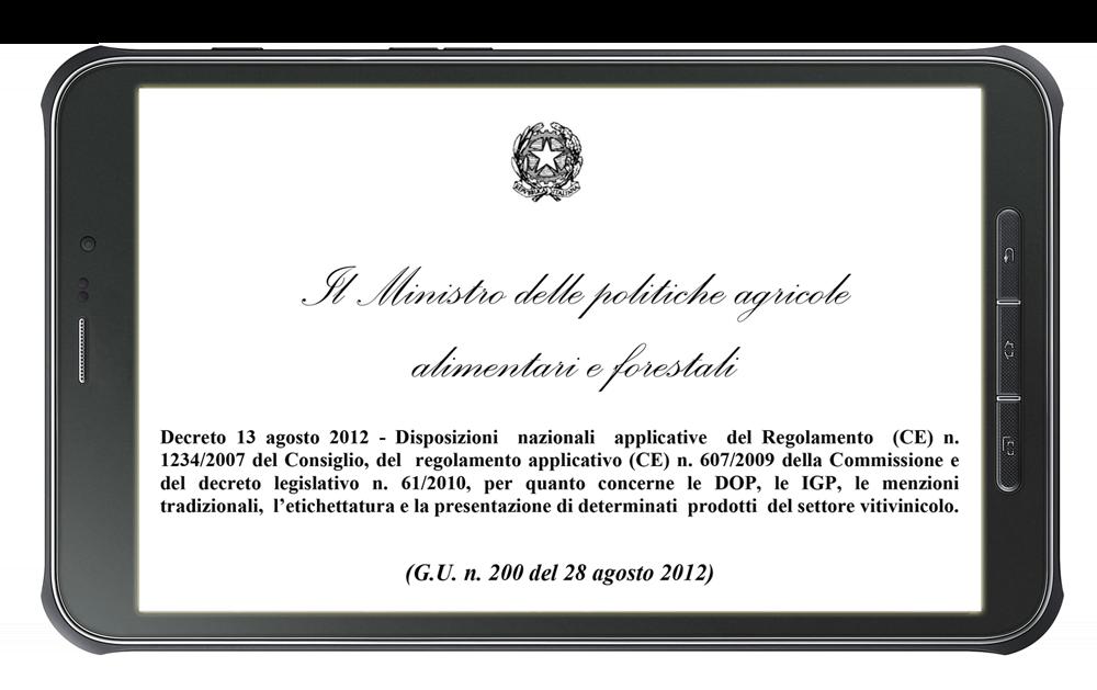Wine NFC System è un programma applicativo che consente di assolvere la normativa in materia di magazzinaggio dei prodotti del settore vitivinicolo